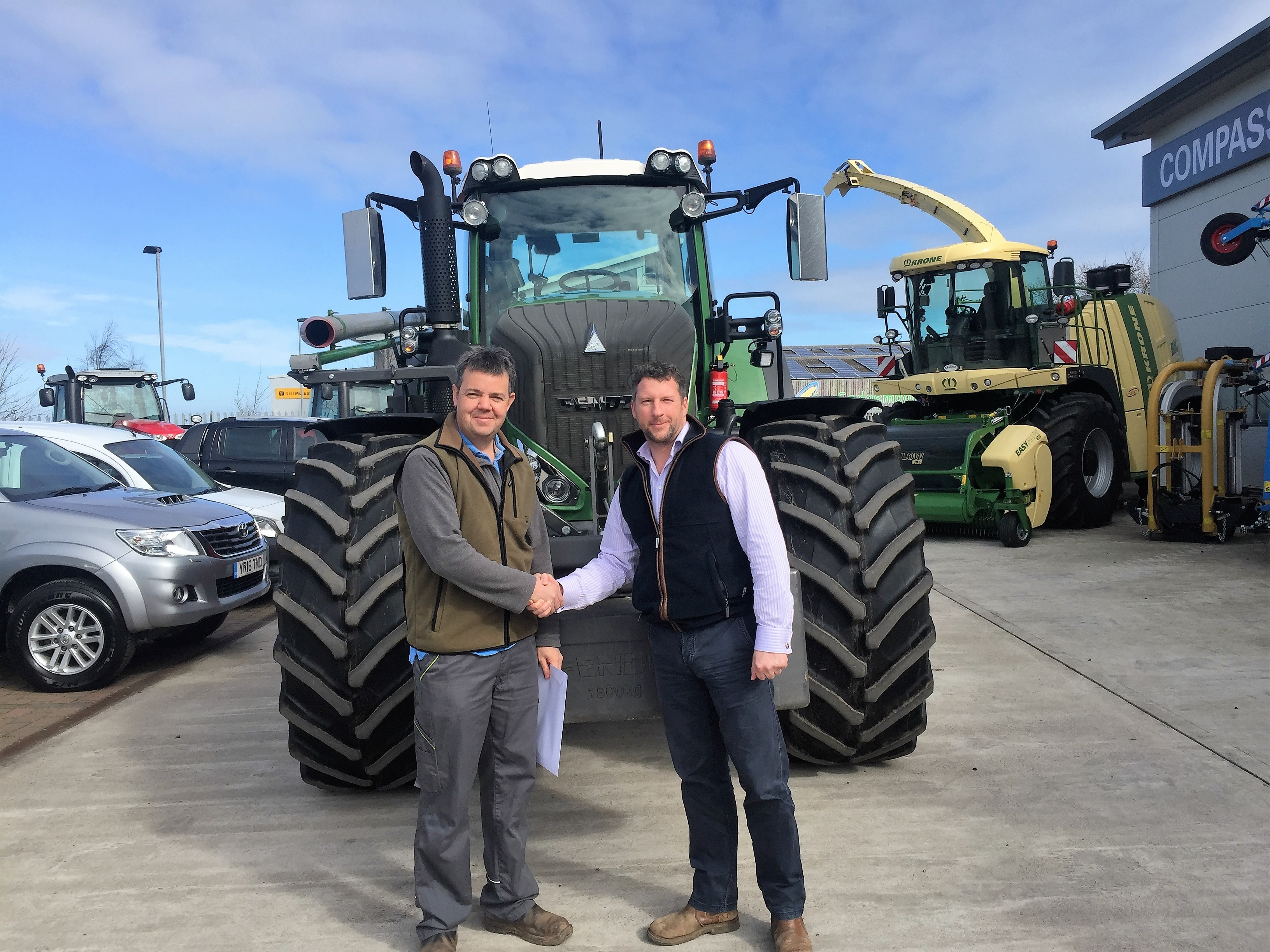 A new Fendt 939 for J M Clapp