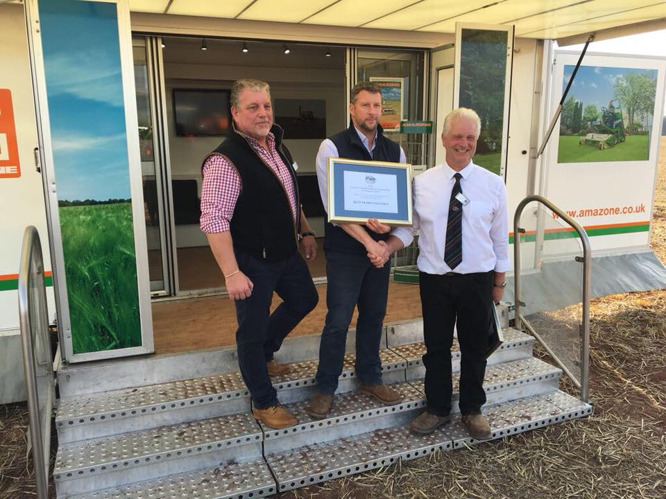 Compass win best Demonstration Plot at the British National Ploughing Championships 2017