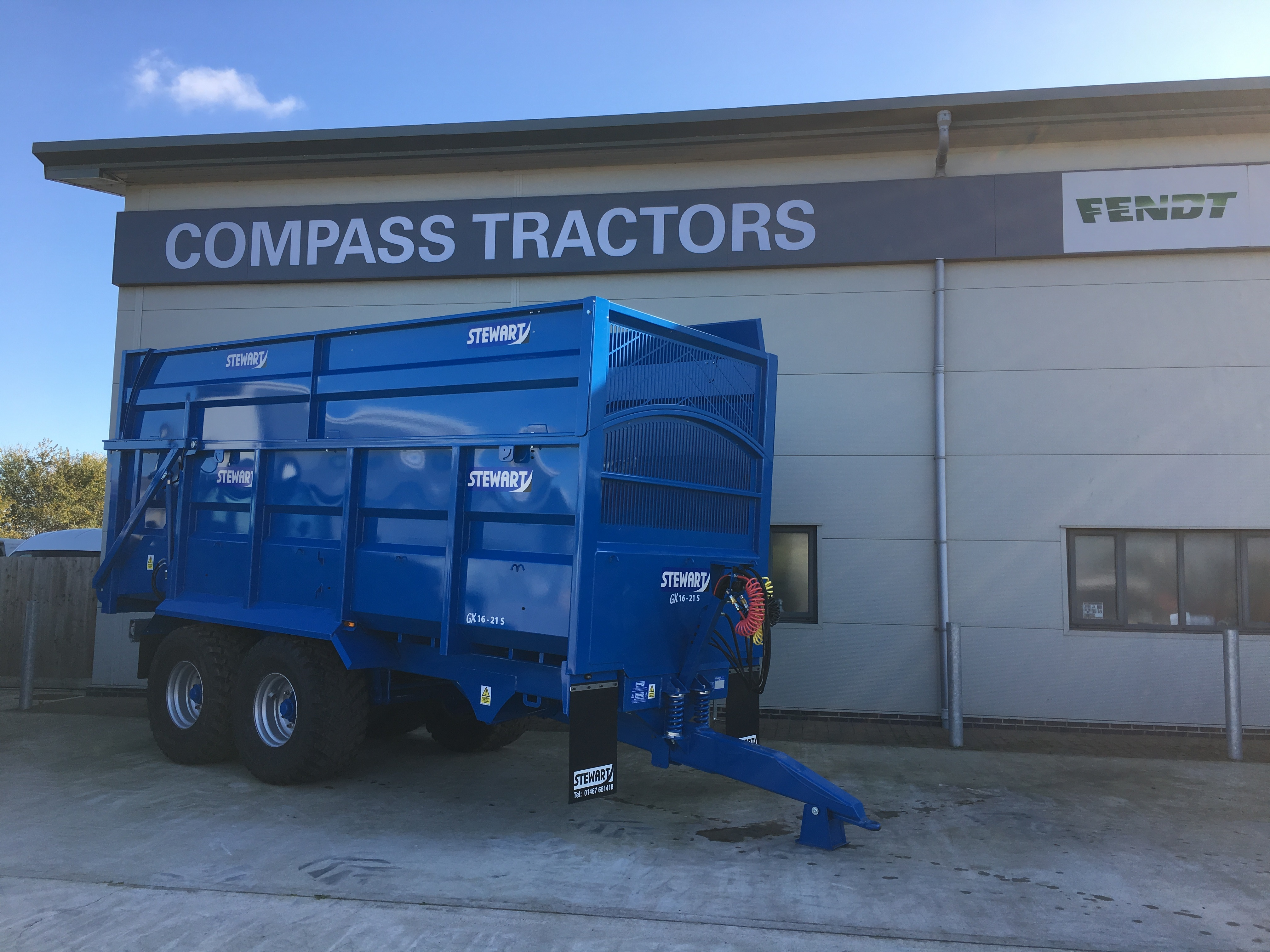 Compass Tractors and now dealers of Stewart Trailers