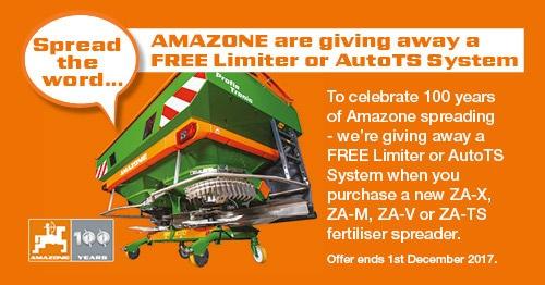 Celebrating 100 years of Amazone Spreading!