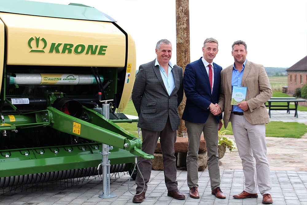 Krone Parts Dealer of the year 2017