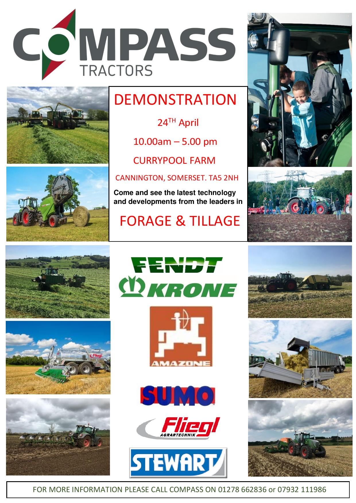 Compass Tractors Demo Day!