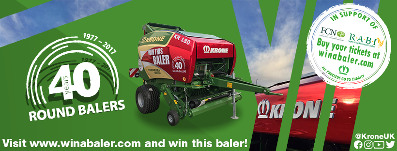 Win this Krone Baler