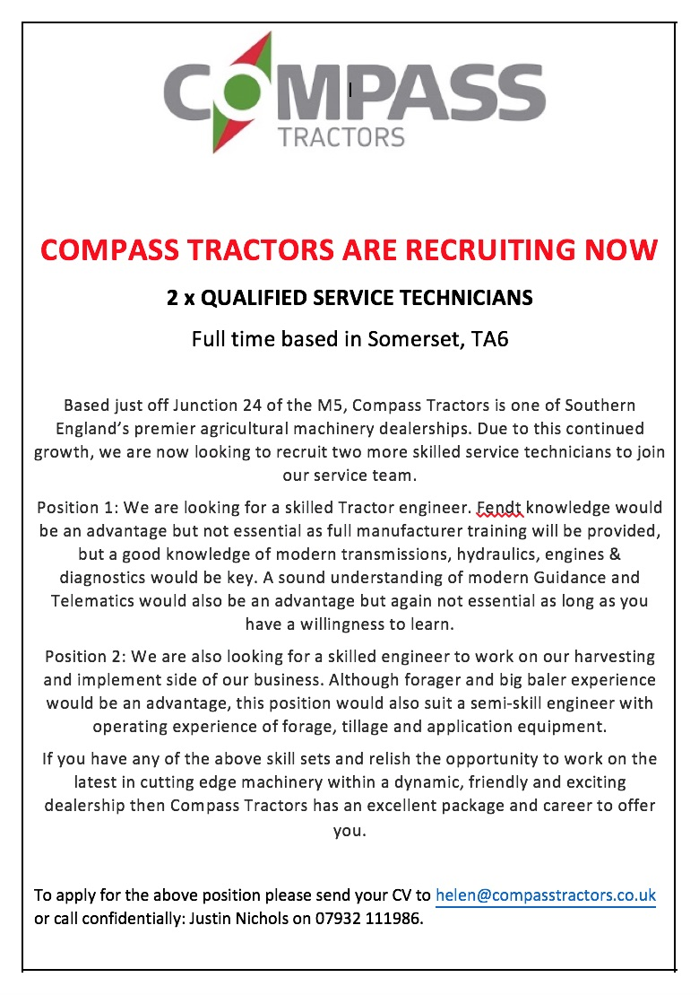 Compass are recruiting!